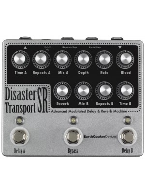 EQD Disaster Transport SR Advanced Modulated Delay & Reverb Machine