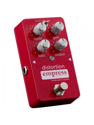 Empress Effects Distortion w/ 3 Gain Stages Effects Pedal