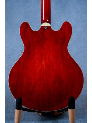 Eastman T386 Cherry Red Hollow Body Electric Guitar - P2100682