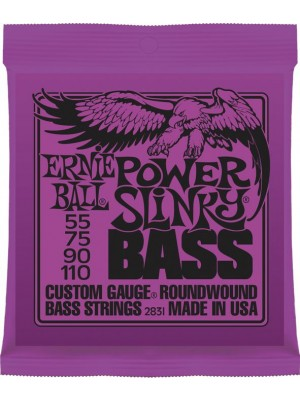 Ernie Ball 2831 Power Slinky (55-110) Bass Guitar Strings