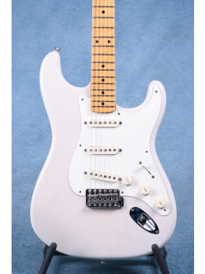 Fender Eric Johnson Signature Stratocaster Maple White Blonde Electric Guitar - Preowned
