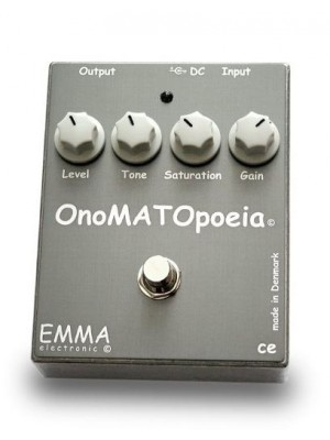EMMA Electronic OM-1 OnoMATOpoeia Guitar Distortion Effect Pedal