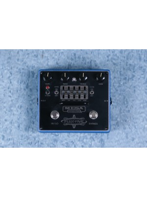 Mesa Boogie Flux Five Graphic EQ and Overdrive Effects Pedal Preowned - F5-002076