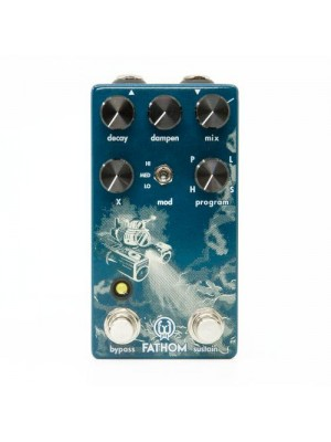 Walrus Audio Fathom Multi-Function Reverb Guitar Effect Pedal