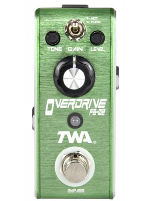 TWA Fly Boys Overdrive Effects Pedal