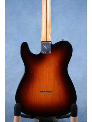 Fender Custom Shop 1956 Telecaster Journeyman Relic Wide Fade 2-Colour Sunburst Electric Guitar - CZ543657