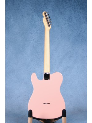 Fender MIJ Hybrid 60s Telecaster Flamingo Pink Electric Guitar - JD19007336