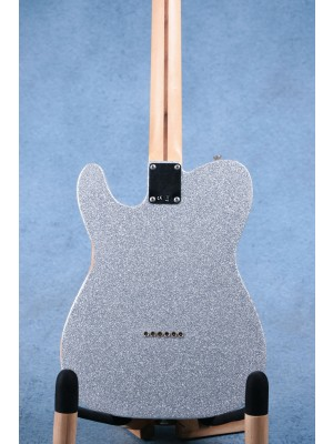 Fender Brad Paisley Signature Road Worn Telecaster Silver Sparkle Electric Guitar - MX17990969