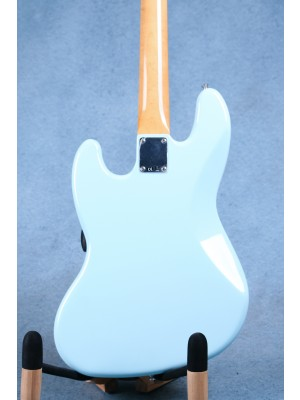 Fender Vintera Series '60s Jazz Bass Daphne Blue Electric Bass Guitar (B-STOCK) - MX19082517B