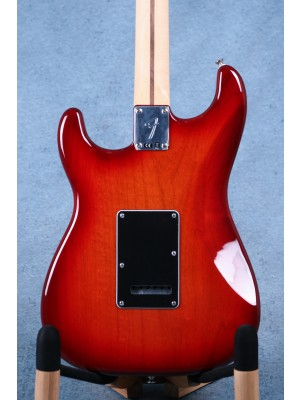 Fender Player Stratocaster Plus Top Aged Cherry Burst Electric Guitar - MX20159347