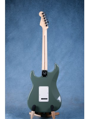 Fender American Professional Stratocaster HSS Shawbucker Antique Olive Electric Guitar - US19002242