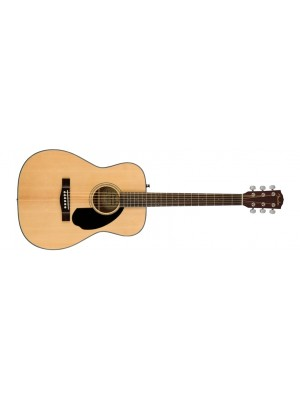 Fender CC-60S Concert Acoustic Guitar - Natural, Walnut Fingerboard