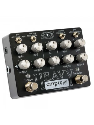 Empress Effects HEAVY Dual Metal Distortion w/ Gate Effects Pedal
