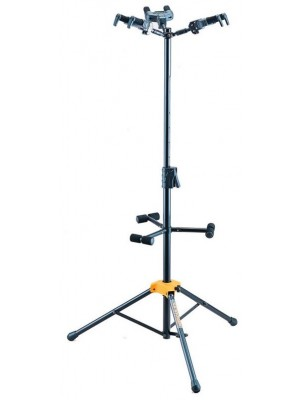Hercules GS432B Triple Guitar Stand with Auto-grip