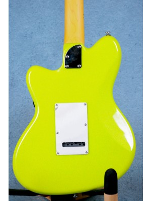 Ibanez YY10 SGS Yvette Young Signature Slime Green Sparkle Electric Guitar - I201224803