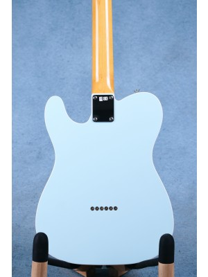 Fender MIJ Traditional '60s Telecaster Custom Sonic Blue Electric Guitar - Preowned