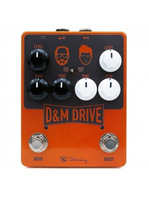Keeley D&M Drive Guitar Boost / Overdrive Effect Pedal