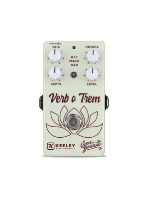 "Keeley ""Eddie Heinzelman"" Verb O Trem Effects Pedal"