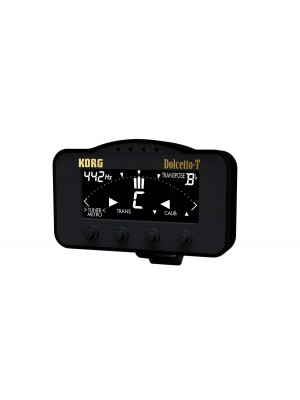Korg Dolcetto-T Clip-on Tuner/Metronome
