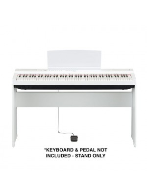 Yamaha L125 L125WH Wood Keyboard Stand for P-125 Digital Piano - White