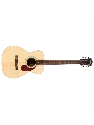Guild M-240E Acoustic Electric Guitar - Natural