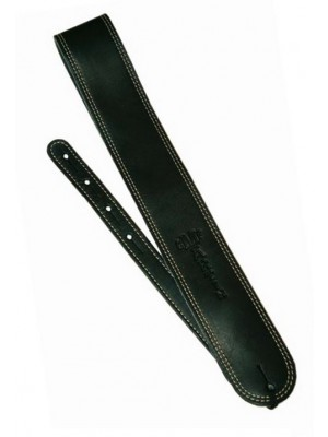 Martin & Co. Slim Leather Strap - Black