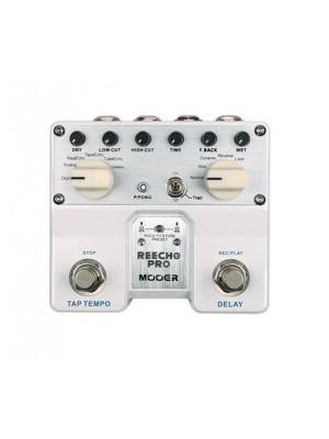 Mooer Reecho Pro Digital Delay Guitar Effects Pedal