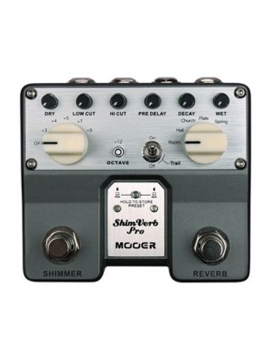 Mooer ShimVerb Pro Digital Reverb Guitar Effects Pedal