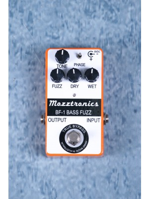 Mozztronics BF-1 Bass Fuzz Effects Pedal