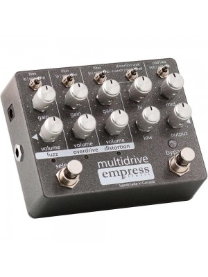 Empress Effects MULTIDRIVE Fuzz / Overdrive / Distortion Effects Pedal