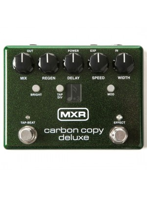 MXR Carbon Copy Deluxe Analog Delay Effects Pedal