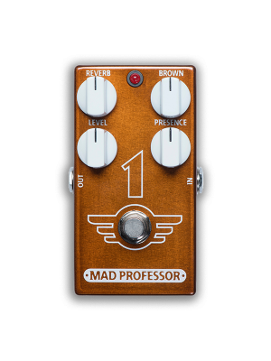 Mad Professor 1 Pedal Distortion Reverb Guitar Effects Pedal
