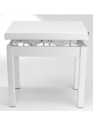 Casio PBWE Adjustable piano stool - White