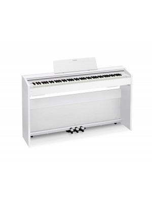 Casio PRIVIA PX870WE 88 Key Tri-Sensor Scaled Hammer Action Keyboard - White