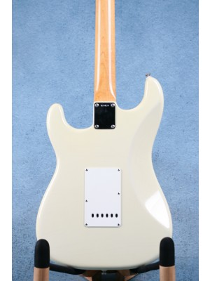 Fender Custom Shop 1960 Closet Classic Stratocaster Olympic White Electric Guitar - Preowned