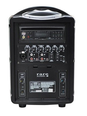Rare Audio WRB-40 Portable 40W Compact Wireless PA System
