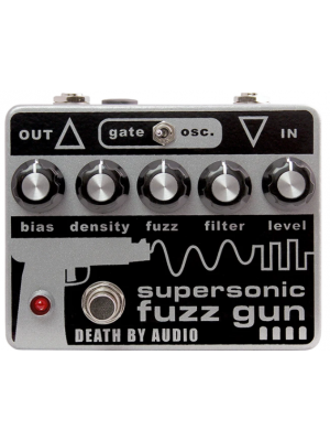 Death By Audio Supersonic Fuzz Gun Guitar Effects Pedal