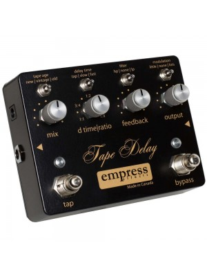 Empress Effects Tape Delay w/ Tap Tempo Effects Pedal