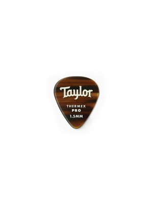 Taylor Premium 351 Thermex Pro Picks, Tortoise Shell, 1.50mm, 6-Pack