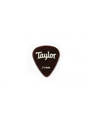 Taylor Celluloid 351 Picks- Tortoise Shell- 0.71mm-  12-Pack