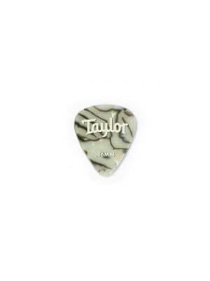 Taylor Celluloid 351 Picks- Abalone- 0.46mm- 12-Pack