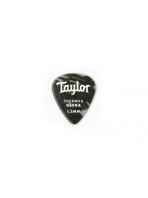 Taylor Premium 351 Thermex Ultra Picks- Black Onyx- 1.50mm- 6-Pack