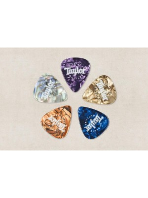 Taylor Picks Marble Assortment - Medium (0.6mm), 10-Pack