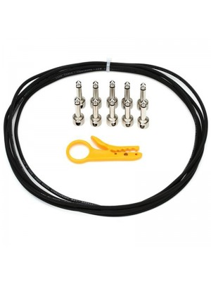 Lava Cables Tightrope Solder-Free Kit - Black, Cable & Stripper