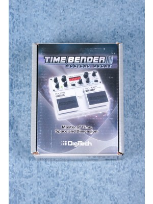 Digitech TimeBender Digital Delay Guitar Effects Pedal - Preowned