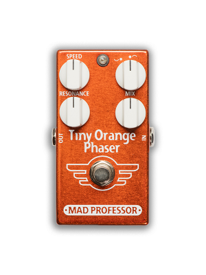 Mad Professor Tiny Orange Phaser Guitar Effects Pedal