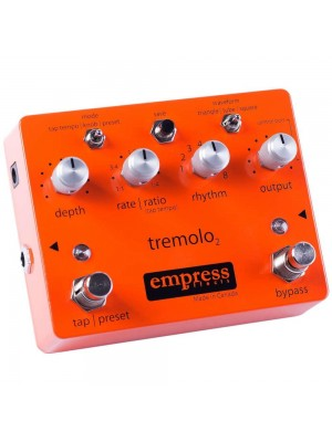 Empress Effects Tremolo2 w/ Tap Tempo & Presets Effects Pedal
