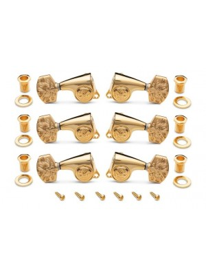Gotoh Luxury Tuners 21:1 - 6-String, Polished Gold