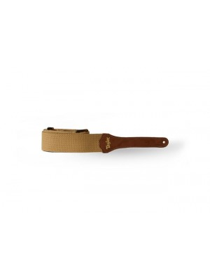 Taylor Strap - Tan Cotton, 2""
