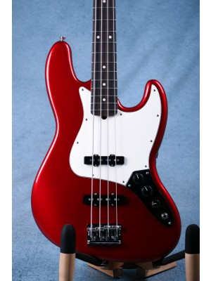 Fender American Professional Jazz Bass Candy Apple Red - Preowned